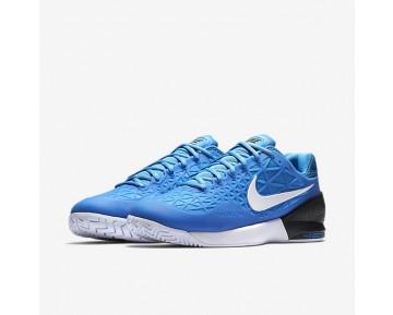 Chaussure Nike Court Zoom Cage 2 Pour Homme Tennis Bleu Photo Clair/Noir/Blanc_NO. 844960-403