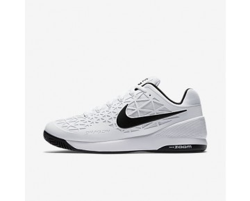 Chaussure Nike Court Zoom Cage 2 Pour Homme Tennis Blanc/Noir_NO. 844960-100