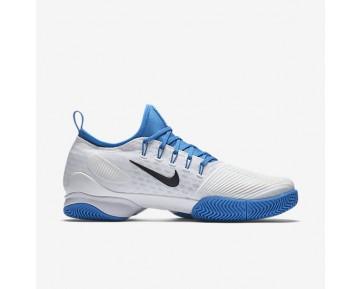 Chaussure Nike Court Air Zoom Ultra React Pour Homme Tennis Blanc/Bleu Photo Clair/Noir_NO. 859719-100