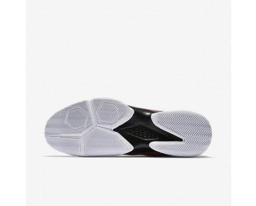 Chaussure Nike Court Air Zoom Ultra Pour Homme Tennis Hyper Orange/Blanc/Noir_NO. 845007-801