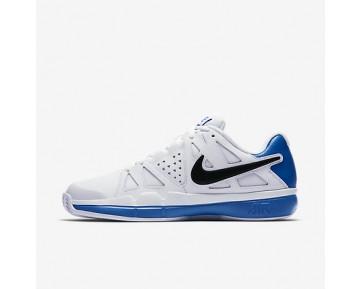 Chaussure Nike Court Air Vapor Advantage Clay Pour Homme Tennis Blanc/Bleu Photo Clair/Noir_NO. 819518-100