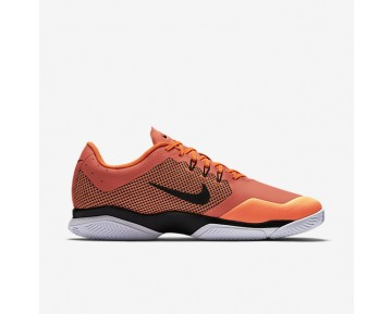 Chaussure Nike Court Air Zoom Ultra Clay Pour Homme Tennis Hyper Orange/Blanc/Noir_NO. 845008-800