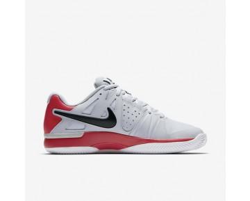 Chaussure Nike Court Air Vapor Advantage Clay Pour Homme Tennis Platine Pur/Rouge Université/Noir/Noir_NO. 819518-001