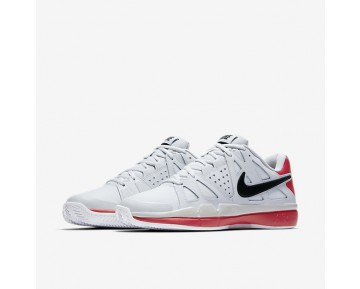 Chaussure Nike Court Air Vapor Advantage Clay Pour Homme Tennis Platine Pur/Rouge Université/Noir/Noir_NO. 819518-001