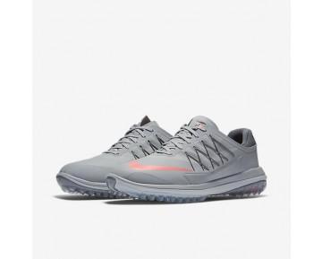 Chaussure Nike Lunar Control Vapor Pour Homme Golf Gris Loup/Gris Foncé/Platine Pur/Rouge Lave Brillant_NO. 849971-003