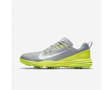 Chaussure Nike Lunar Command 2 Pour Homme Golf Gris Loup/Volt/Blanc_NO. 849968-003