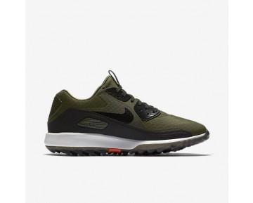 Chaussure Nike Air Zoom 90 It Pour Homme Golf Kaki Cargo/Blanc Sommet/Orange Max/Noir_NO. 844569-300