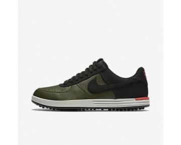 Chaussure Nike Lunar Force 1 G Pour Homme Golf Kaki Cargo/Orange Max/Beige Clair/Noir_NO. 818726-300