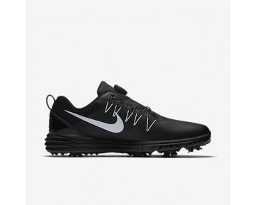 Chaussure Nike Lunar Command 2 Boa Pour Homme Golf Noir/Noir/Blanc_NO. 888552-002