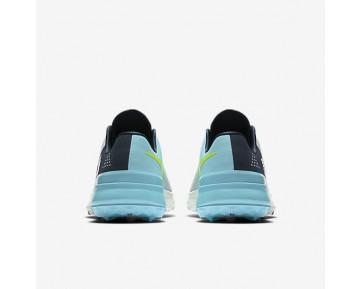 Chaussure Nike Fi Flex Pour Homme Golf Platine Pur/Bleu Nuit Marine/Ciel Éclatant/Volt_NO. 849960-002