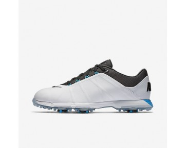 Chaussure Nike Lunar Fire Pour Homme Golf Blanc/Bleu Photo/Anthracite_NO. 853738-100