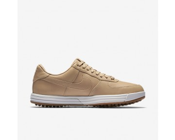 pretty nice 40694 9fbfa Chaussure Nike Lunar Force 1 G Premium Pour Homme Golf Brun  VachetteVoileGomme