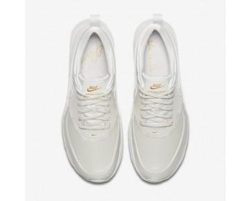 Chaussure Nike Air Max Thea Se Premium Pour Femme Lifestyle Blanc Sommet/Or Métallique/Blanc Sommet_NO. AA1440-100