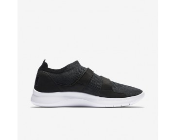 Chaussure Nike Air Sock Racer Ultra Flyknit Pour Homme Lifestyle Noir/Noir/Blanc/Anthracite_NO. 898022-001