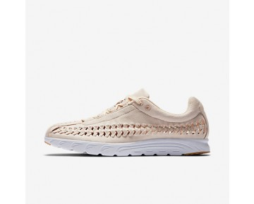 Chaussure Nike Mayfly Woven Qs Pour Femme Lifestyle Orange Pâle/Blanc/Jaune Gomme/Orange Pâle_NO. 919749-800