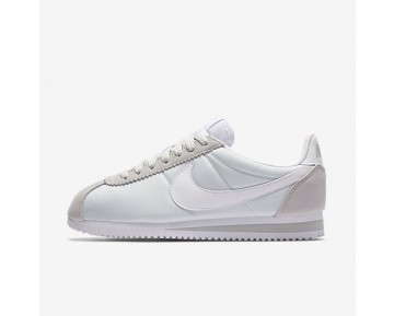 Chaussure Nike Classic Cortez 15 Nylon Pour Femme Lifestyle Platine Pur/Blanc_NO. 749864-010