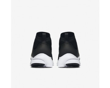 Chaussure Nike Air Presto Ultra Flyknit Pour Homme Lifestyle Noir/Blanc/Vert Électrique/Noir_NO. 835570-001