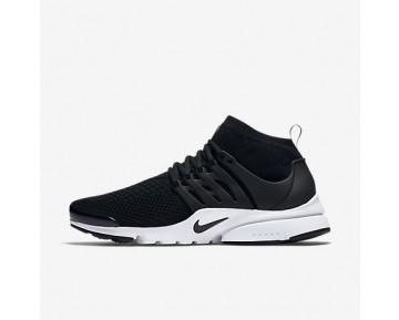 designer fashion 8594e d416e Chaussure Nike Air Presto Ultra Flyknit Pour Homme Lifestyle Noir Blanc Vert  Électrique