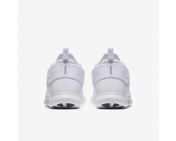 Chaussure Nike Free Rn Commuter 2017 Pour Femme Lifestyle Blanc/Blanc/Blanc_NO. 880842-100