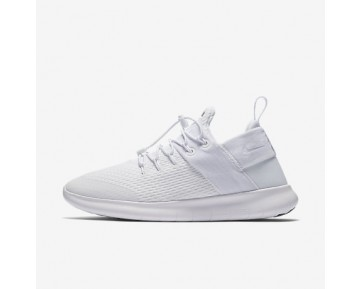 Chaussure Nike Free Rn Commuter 2017 Pour Femme Lifestyle Blanc/Blanc/Blanc_NO. 880842-100