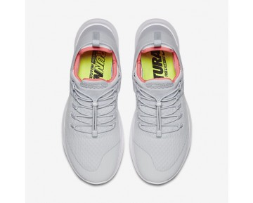 Chaussure Nike Free Rn Commuter 2017 Pour Femme Lifestyle Platine Pur/Rouge Cocktail/Blanc/Aqua Clair_NO. 880842-004