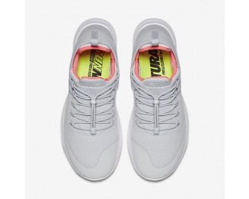 Chaussure Nike Free Rn Commuter 2017 Pour Femme Lifestyle Platine Pur/Rouge Cocktail/Blanc/Aqua Clair_NO. 880842-004