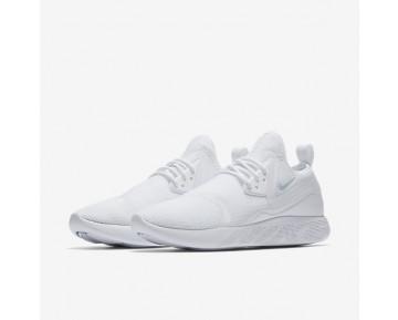 Chaussure Nike Lunarcharge Breathe Pour Femme Lifestyle Blanc/Blanc/Bleu Arsenal Clair_NO. 942060-100