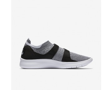 Chaussure Nike Air Sock Racer Ultra Flyknit Pour Femme Lifestyle Noir/Blanc/Blanc_NO. 896447-002