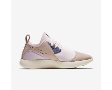 Chaussure Nike Lunarcharge Premium Pour Femme Lifestyle Rouge Siltite/Rose Perle/Bleu Ciel Foncé_NO. 923286-600