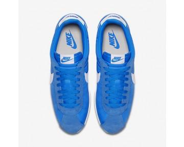 Chaussure Nike Classic Cortez Nylon Pour Femme Lifestyle Bleu Photo/Gris Pâle/Blanc_NO. 807472-400