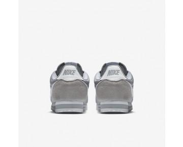Chaussure Nike Classic Cortez Nylon Pour Femme Lifestyle Gris Loup/Blanc_NO. 807472-010