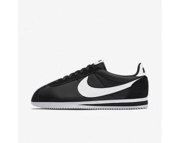 Chaussure Nike Classic Cortez Nylon Pour Femme Lifestyle Noir/Blanc_NO. 807472-011