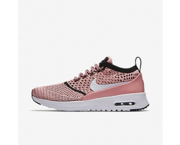 Chaussure Nike Air Max Thea Ultra Flyknit Pour Femme Lifestyle Melon Brillant/Noir/Blanc_NO. 881175-800