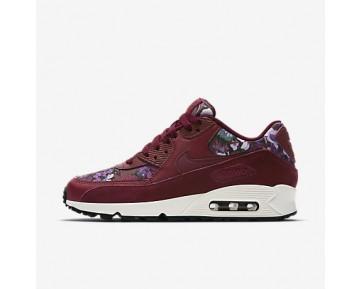Chaussure Nike Air Max 90 Se Pour Femme Lifestyle Rouge Équipe/Bordeaux Nuit/Voile/Rouge Équipe_NO. 881105-600