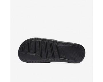 Chaussure Nike Benassi Just Do It Ultra Premium Pour Femme Lifestyle Noir/Blanc_NO. 818737-010