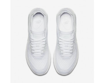 Chaussure Nike Air Max 90 Ultra 2.0 Flyknit Pour Femme Lifestyle Blanc/Platine Pur/Blanc_NO. 881109-104