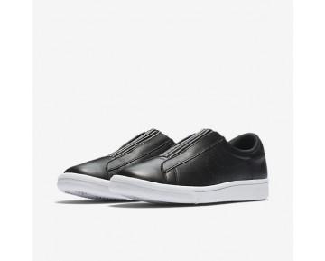 Chaussure Nike Tennis Classic Ease Pour Femme Lifestyle Noir/Blanc/Bleu Glacier/Noir_NO. 896504-001
