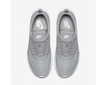 Chaussure Nike Air Max Thea Pour Femme Lifestyle Gris Loup/Blanc/Gris Loup_NO. 599409-023