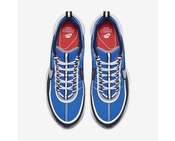 Chaussure Nike Zoom Spiridon Ultra Pour Homme Lifestyle Bleu Royal/Noir/Cramoisi/Argent Métallique_NO. 876267-400