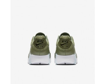 Chaussure Nike Air Max 90 Ultra 2.0 Pour Femme Lifestyle Vert Feuille De Palmier/Blanc/Noir/Bleu Glacier_NO. 881106-300