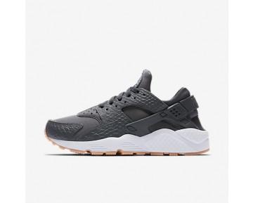 Chaussure Nike Air Huarache Se Pour Femme Lifestyle Gris Foncé/Jaune Gomme/Blanc/Gris Foncé_NO. 859429-006