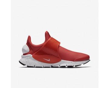 Chaussure Nike Sock Dart Premium Pour Femme Lifestyle Orange Max/Noir/Blanc_NO. 881186-800