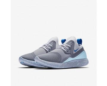 Chaussure Nike Lunarcharge Essential Bn Pour Femme Lifestyle Gris Loup/Blanc/Bleu Photo_NO. 933797-014