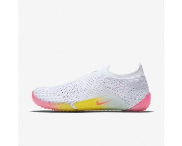 Chaussure Nike Lab City Knife 3 Flyknit Pour Femme Lifestyle Blanc/Platine Pur/Bleu Glacier/Rose Coureur_NO. 896284-100