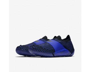 Chaussure Nike Lab City Knife 3 Flyknit Pour Femme Lifestyle Bleu Coureur/Noir/Noir_NO. 896284-400