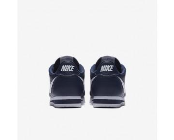 Chaussure Nike Classic Cortez Metallic Pour Femme Lifestyle Bleu Nuit Marine/Blanc/Blanc_NO. 807471-400