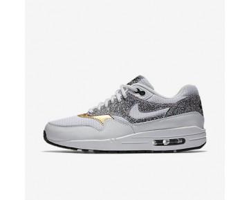 Chaussure Nike Air Max 1 Se Pour Femme Lifestyle Blanc/Noir/Blanc/Blanc_NO. 881101-100