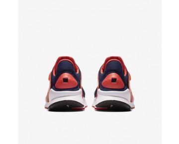 Chaussure Nike Sock Dart Pour Femme Lifestyle Bleu Nuit Marine/Orange Max/Blanc/Bleu Nuit Marine_NO. 819686-402