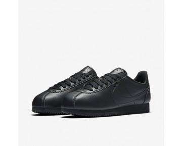 Chaussure Nike Beautiful X Classic Cortez Premium Pour Femme Lifestyle Noir/Noir/Noir_NO. 884922-001