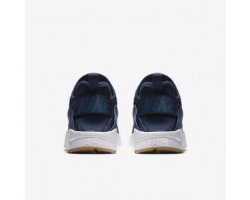 sale retailer a1c5b 553eb Chaussure Nike Air Huarache Ultra Si Pour Femme Lifestyle Bleu Binaire Blanc  Gomme Marron
